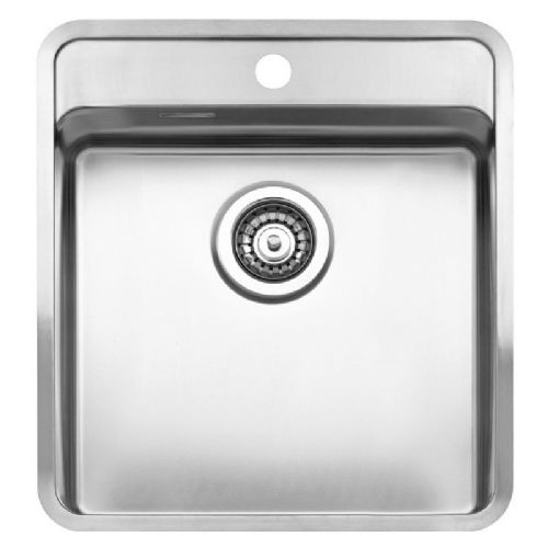 Reginox Ohio 40 x 40 Tapwing Stainless Steel Sink